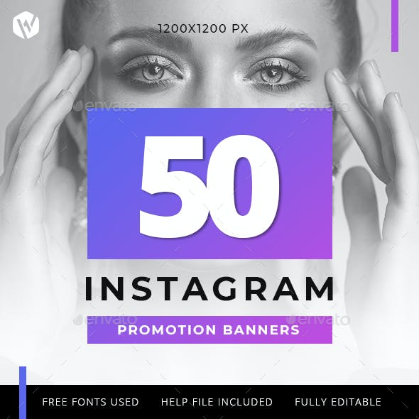 50 Instagram Banners