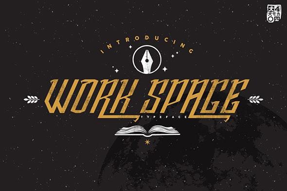 Work Space - Futuristic Decorative