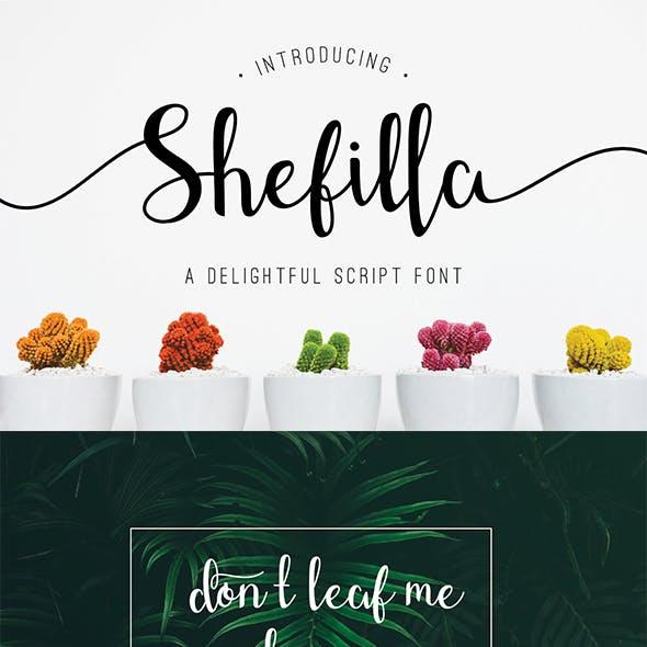 Shefilla - Script Font