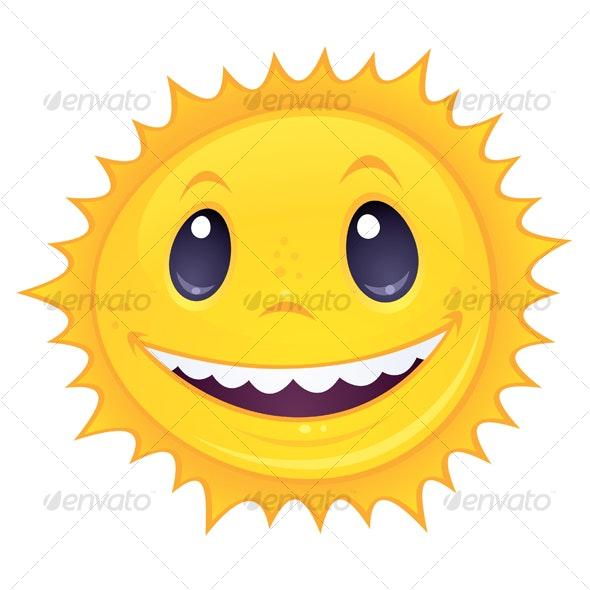 Smiley Sun - Seasons Nature