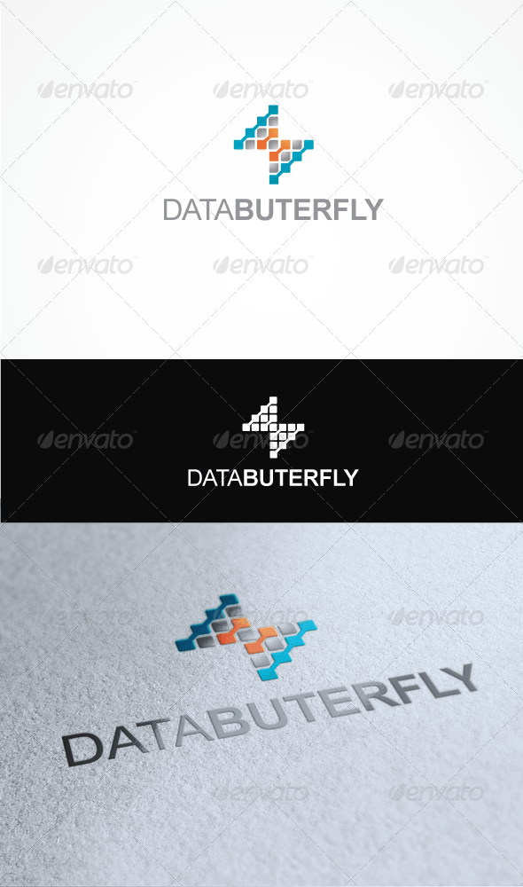 DataButterfly - Vector Abstract
