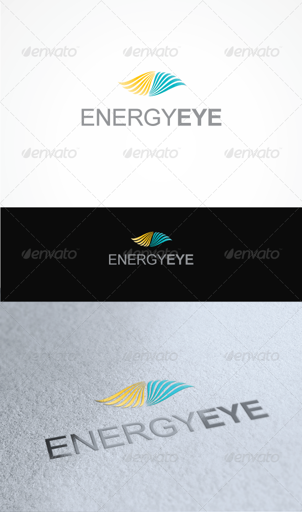 EnergyEye - Nature Logo Templates