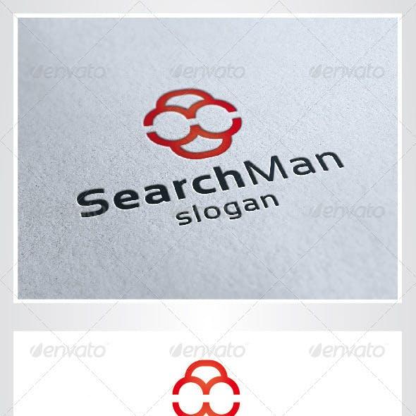 Search Man Logo