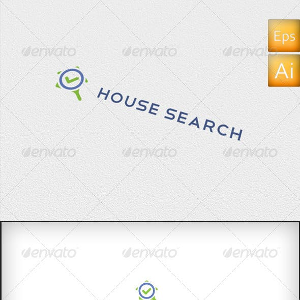 House Search - Logo Template
