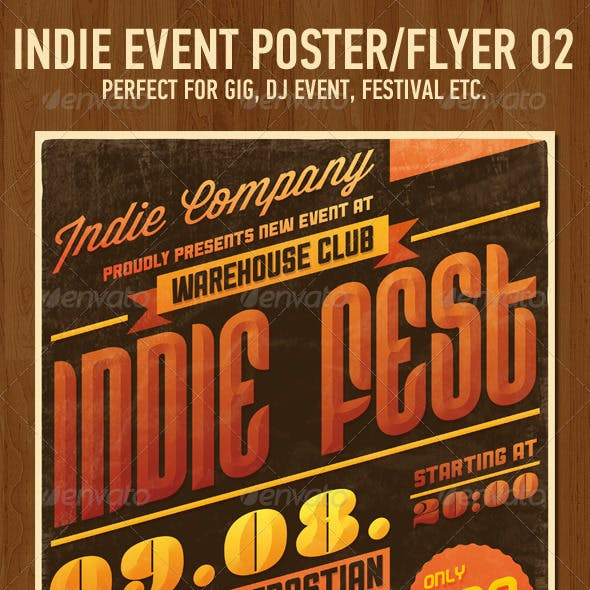 Indie Event Flyer/Poster No2