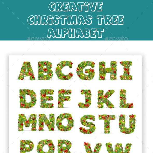 Creative Christmas Alphabets