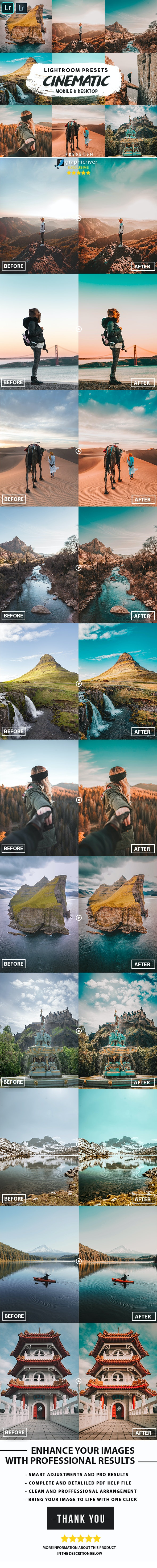 Cinematic insta Lightroom Presets - Cinematic Lightroom Presets