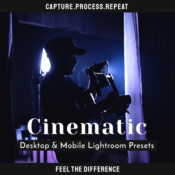 Cinematic Lightroom Presets - Desktop & Mobile