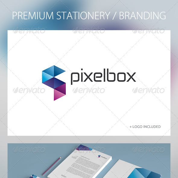 Pixelbox - Corporate Identity