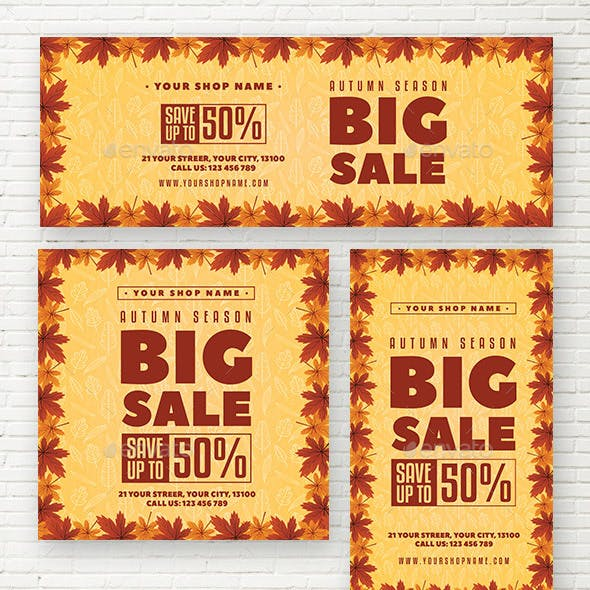 Autumn Sale Social Media Template