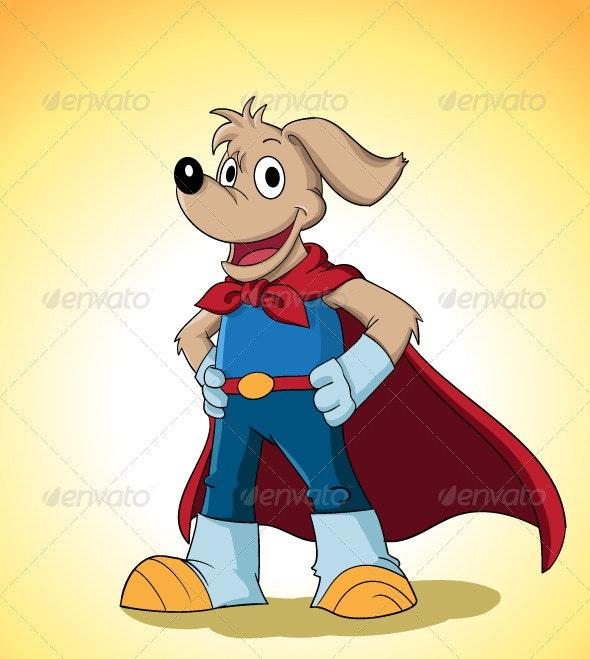 Superdog - Characters Vectors