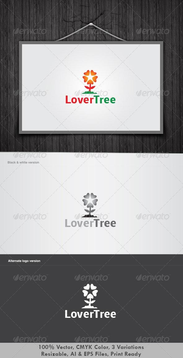 Lover Tree Logo - Nature Logo Templates