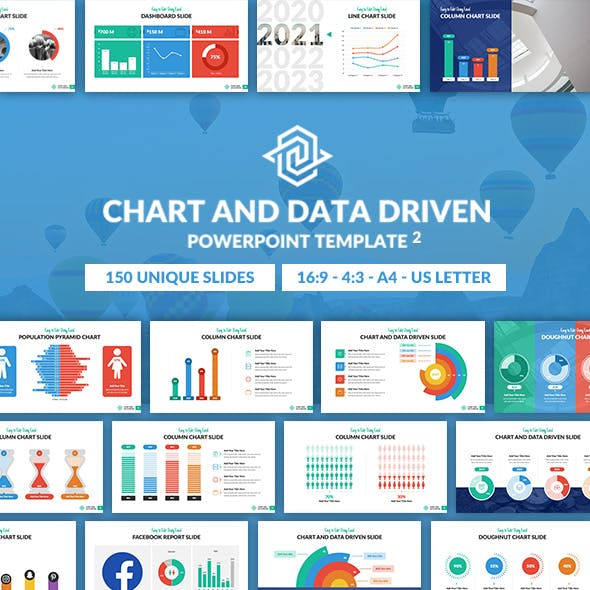 Chart and Data Driven 2 PowerPoint Presentation Template