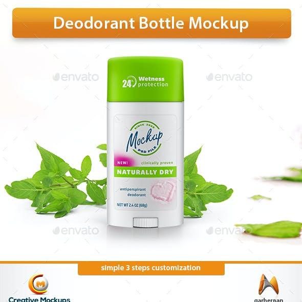 Deodorant Bottle Mockup