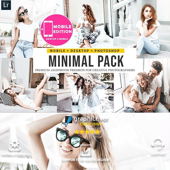 Minimal Lightroom Presets Mobile & Desktop