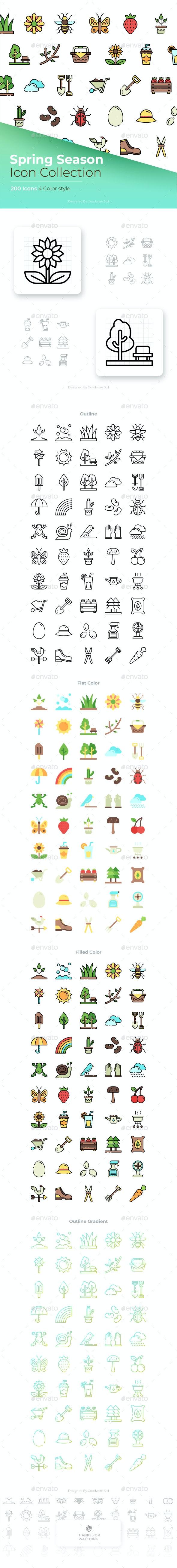 Spring Season Icon - Seasonal Icons