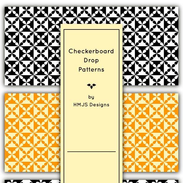Checkerboard Drop Patterns