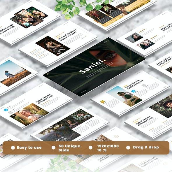 Saniel - Creative Powerpoint Template