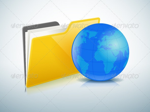 Global Sharing Concept - Communications Technology