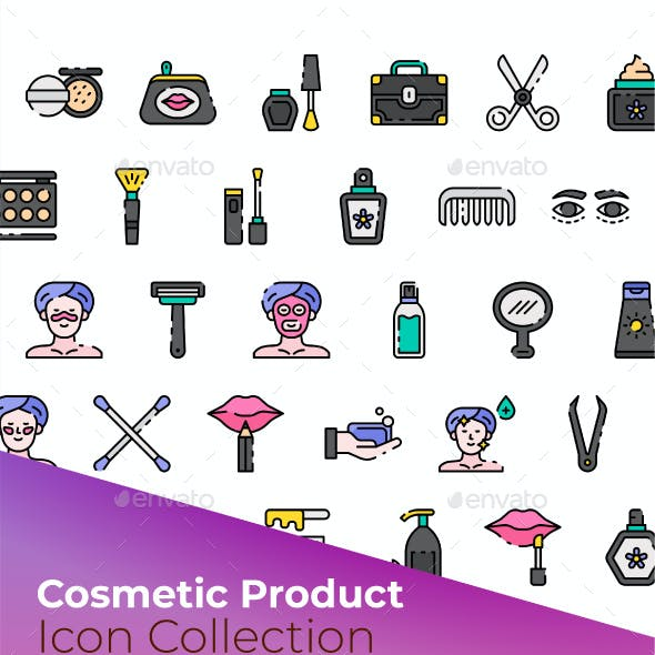 Cosmetic Product Icon