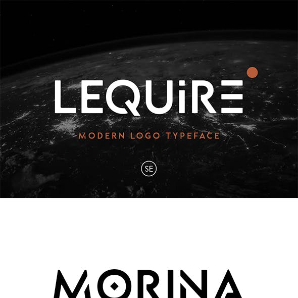 Lequire - Modern Logo Typeface