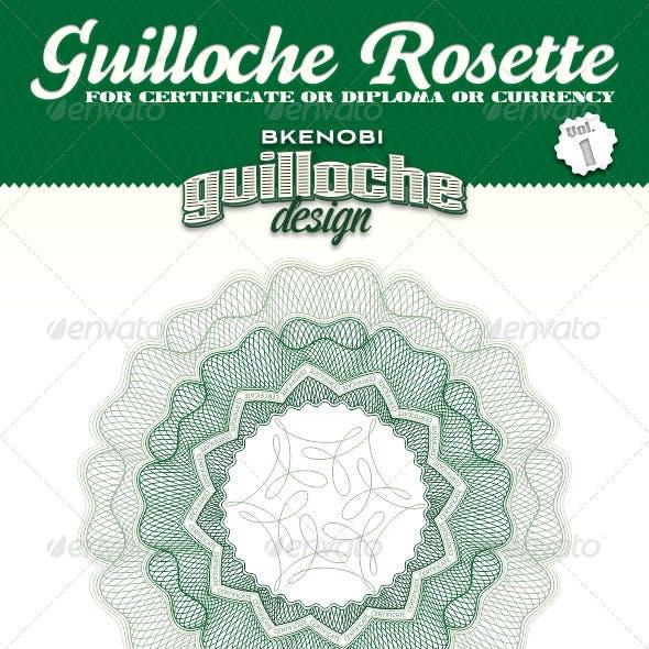 Guilloche Rosette Vol.1