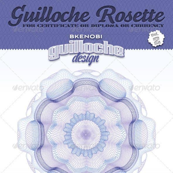 Guilloche Rosette Vol.2