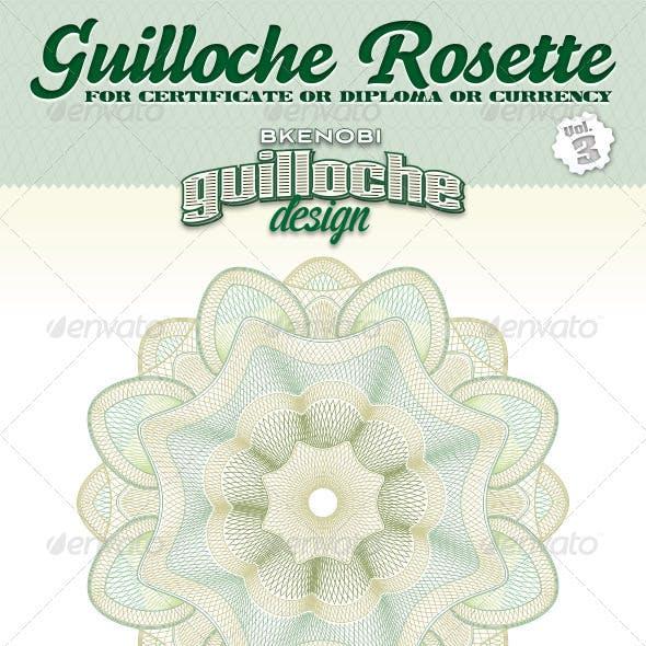 Guilloche Rosette Vol.3