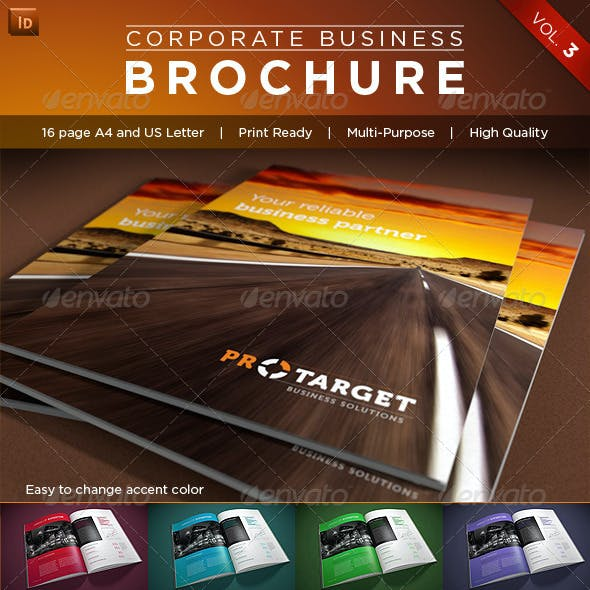 Corporate Business Brochure Vol. 3