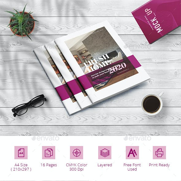Interior Design Brochure Catalog