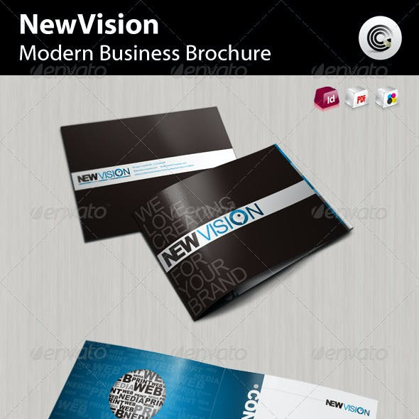 New Vision Modern Business Brochure