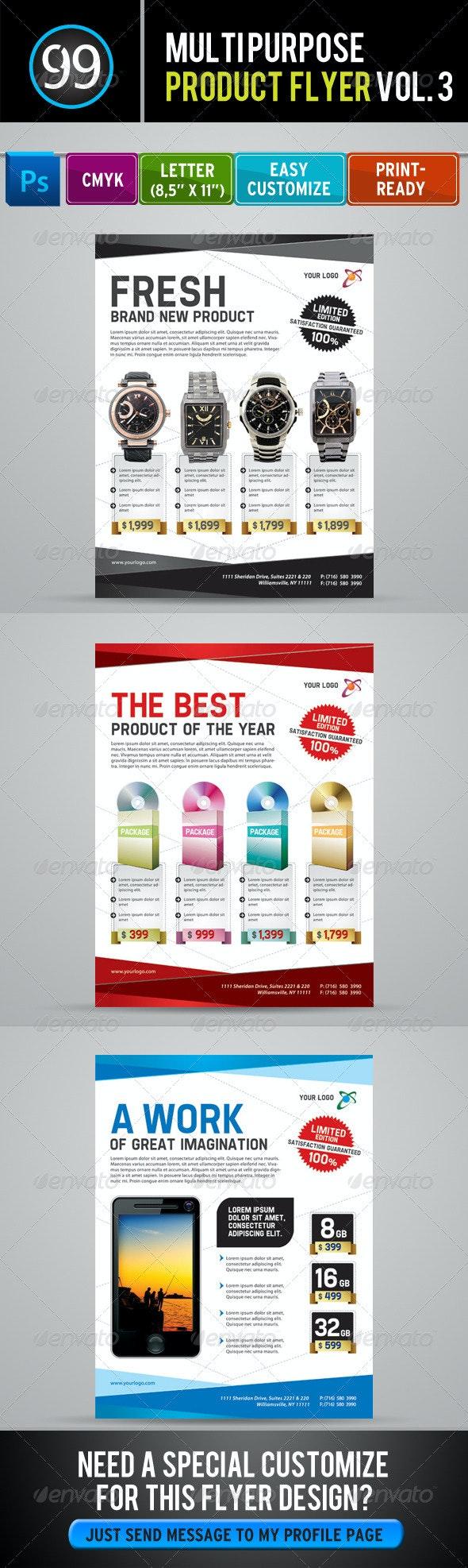 Promotion Flyer Vol 3 - Commerce Flyers
