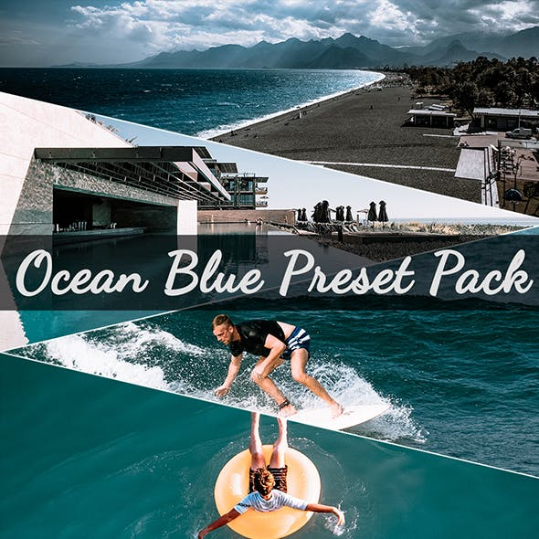 Ocean Blue Preset Pack DELUXE Edition