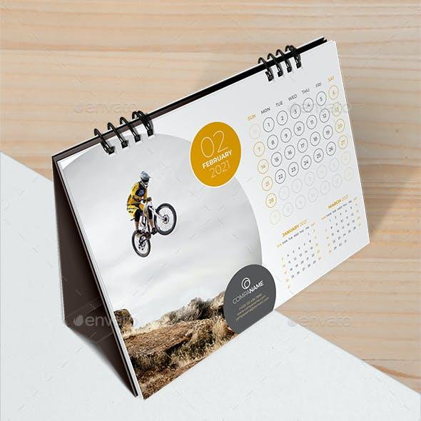 The Desk Calendar 2021