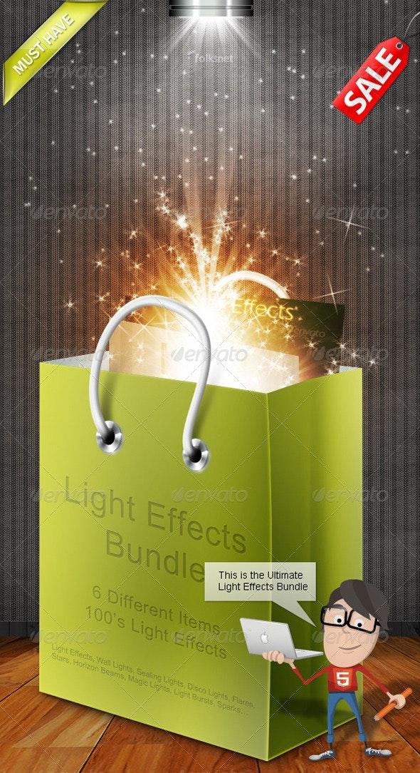 Light Effects Bundle - Decorative Graphics