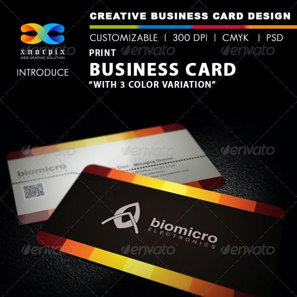 Print Business Card