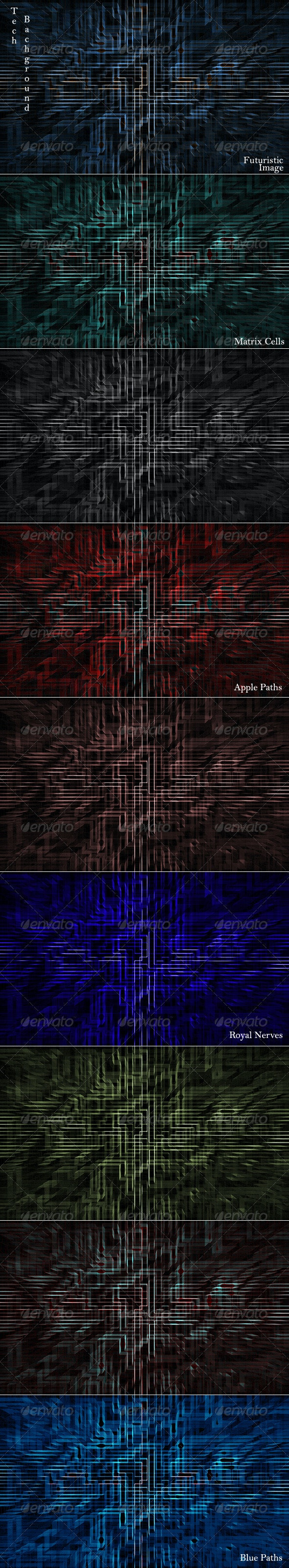 Spicy  Futuristic Tech Background - Tech / Futuristic Backgrounds