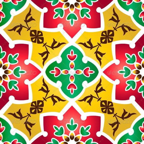 Traditional Islamic Pattern - Patterns Decorative