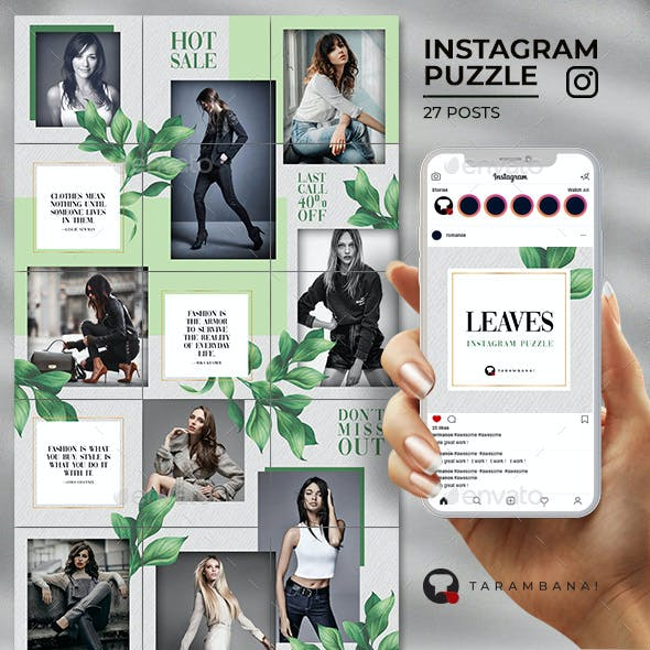 Leaves - Instagram Puzzle Feed
