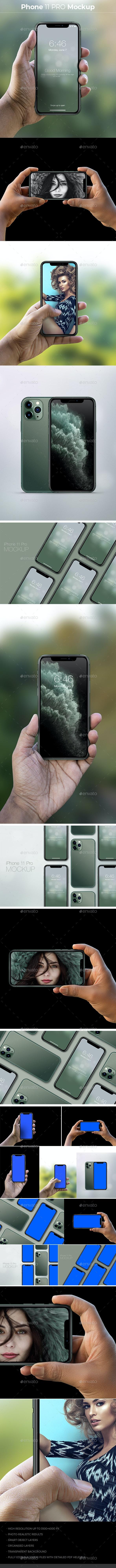 Phone 11 Mockup - Mobile Displays