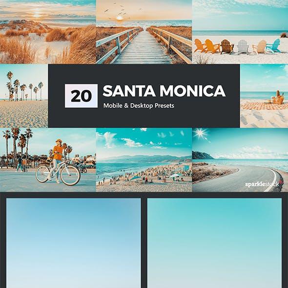 Santa Monica Lightroom Presets & LUTs