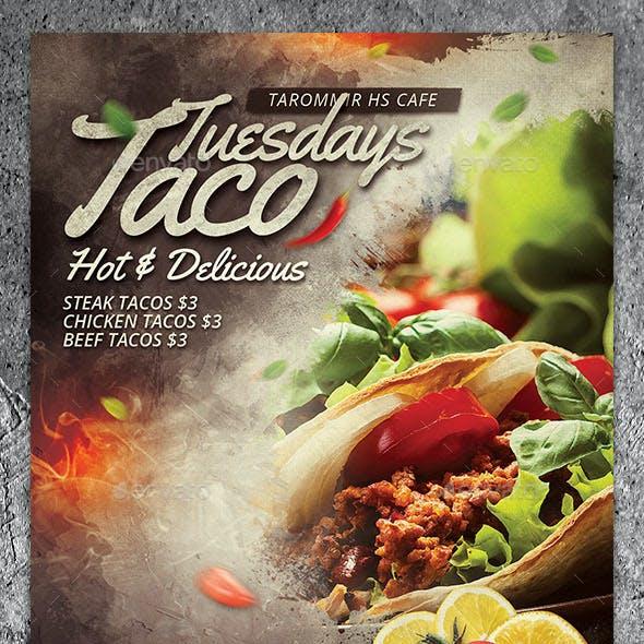 Taco Tuesdays Flyer