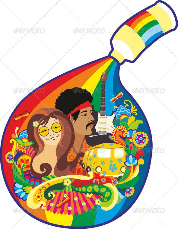 Tube Paint Rainbow - Conceptual Vectors