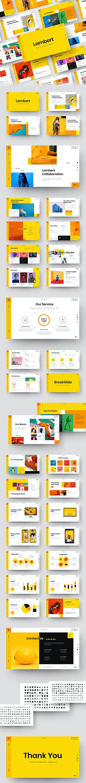 Lambert – Creative Business Google Slides Template - Google Slides Presentation Templates