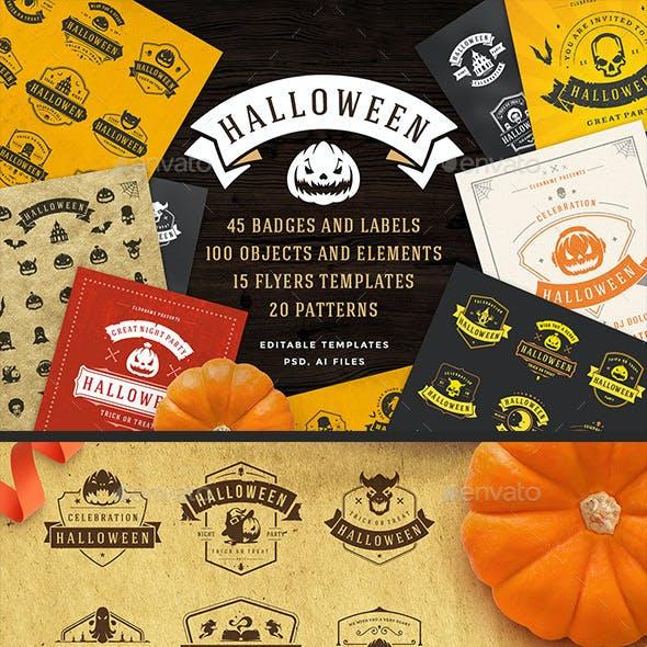 Halloween Design Set