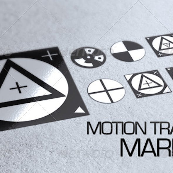 7 Motion Tracking Markers