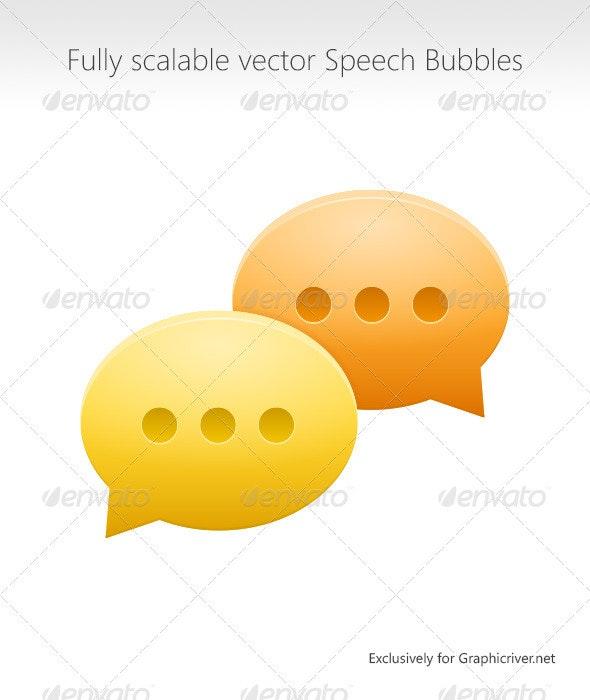 Speech Bubbles - Miscellaneous Conceptual