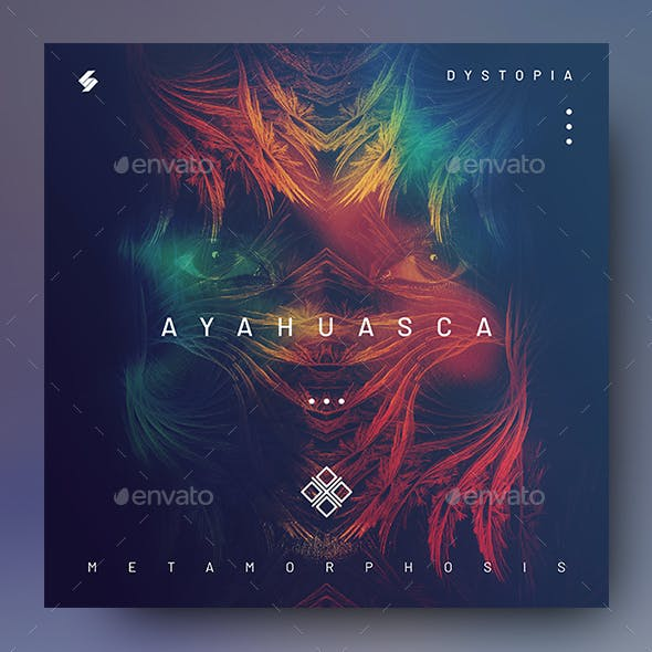 Ayahuasca – Music Album Cover Artwork / Video Thumbnail Template