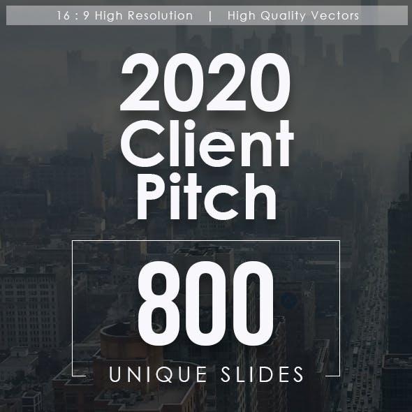 2020 Client Pitch Powerpoint Templates Bundle