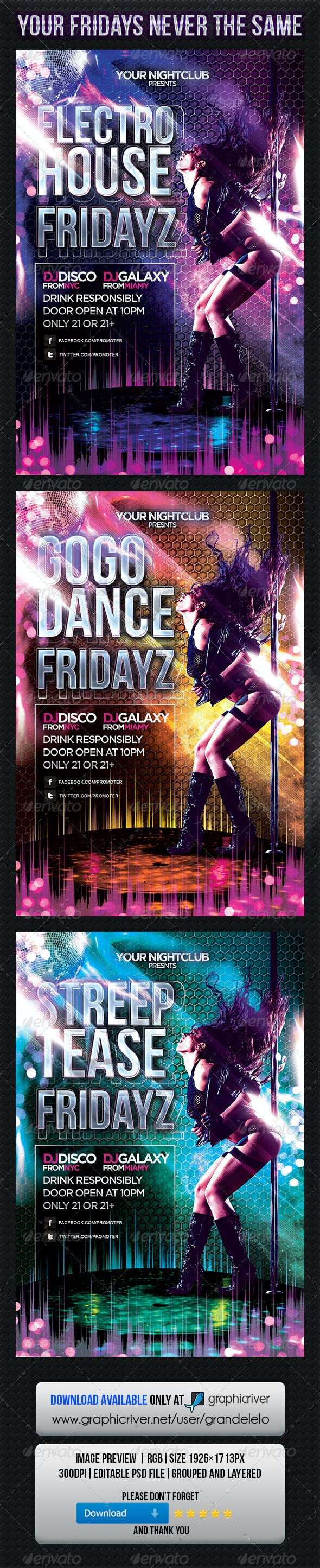 Fridayz Party - Clubs & Parties Events